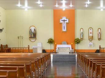 Jesus Maria e José interior