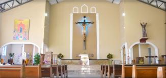 N. SRA. de Pentecostes e São Francisco de Assis fachada