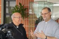 Primeira visita de Dom José Negri a Cúria Diocesana