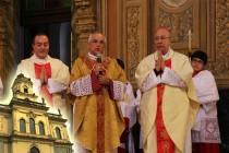Núncio Apostólico, Dom Giovanni D'aniello visita a Catedral de Santo Amaro após obras de restauração