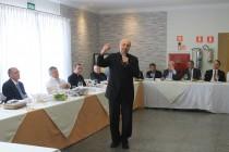 Almoço de aniversário de Dom Fernando na Cúria Diocesana