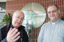 Vídeo: Primeira visita de Dom José Negri, PIME a Cúria Diocesana
