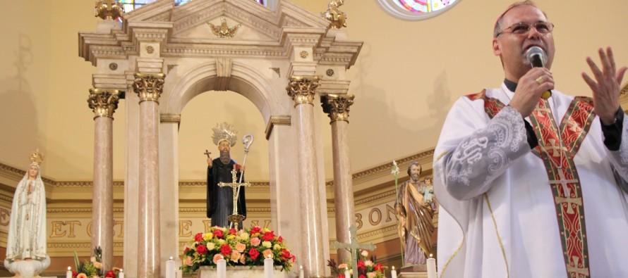 Celebração de posse canônica de Dom José Negri, PIME na Catedral de Santo Amaro