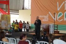 Dom Fernando A. Figueiredo, OFM no Reviver 2015, evento da Comunidade Shalom