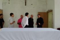Dom Fernando visita obras da Comunidade São José – IVE