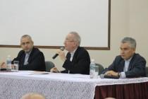 Dom Claudio Humes ressalta que Igreja deve ser misericordiosa, durante palestra no 20º Encontro Ampliado do SP2