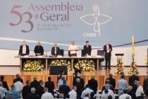 Tem início, nesta quarta-feira, a 53ª Assembleia Geral da CNBB