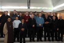 Jovens padres se reúnem para o 2º encontro do clero jovem em 2015
