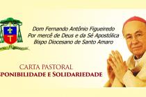 Carta Pastoral: Disponibilidade e solidariedade