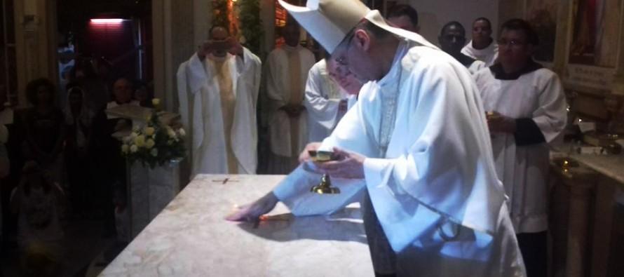 Dedicação da Igreja e do altar da Paróquia São Pedro Apóstolo