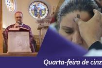 Dom José celebra quarta-feira de cinzas na Catedral de Santo Amaro