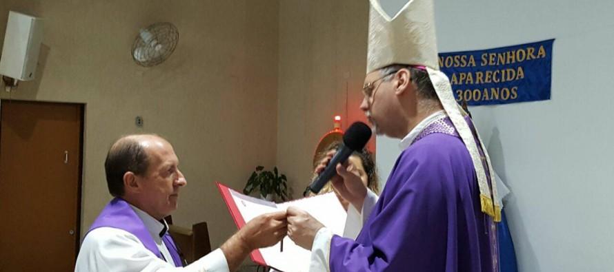 Pe. Antônio Carlos Nunes, PIME toma posse na paróquia São Francisco Xavier
