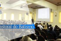 Pastoral do Batismo promove encontro formativo na Cúria Diocesana