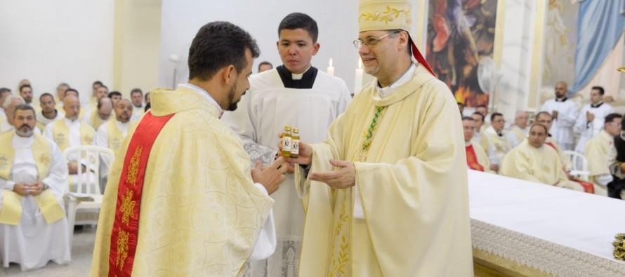 Semana Santa: Missa dos Santos Óleos