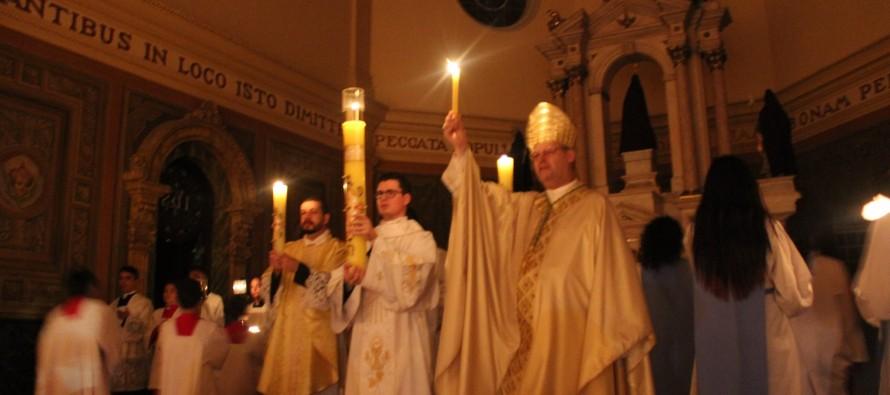 Semana Santa: Celebração da Vigília Pascal