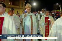 Festa do Centenário das Aparições de Nossa Senhora de Fátima reúne milhares de fiéis em Santo Amaro