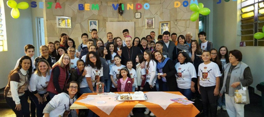 Visita Pastoral na Paróquia Santa Rita de Cássia