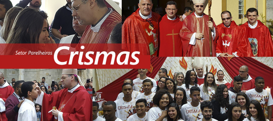 Bispo celebra crismas em paróquias do setor Parelheiros