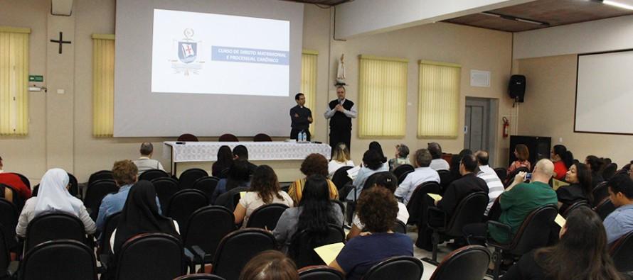 Abertura do Curso de Direito Matrimonial e Processual Canônico