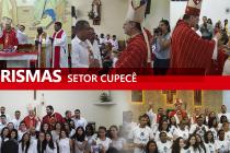 Cinco paróquias do setor Cupecê recebem Dom José para celebração do Crisma