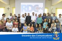 Primeiro encontro dos comunicadores da Diocese de Santo Amaro