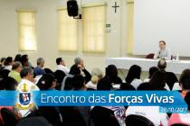 Mons. Catelan assessora encontro das Forças Vivas da diocese