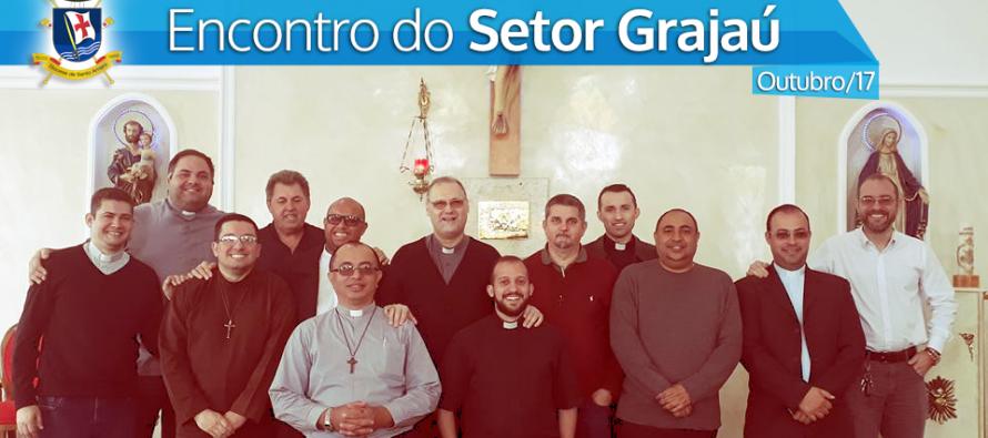 Encontro com os Padres do Setor Grajaú na Paróquia Nossa Senhora das Graças