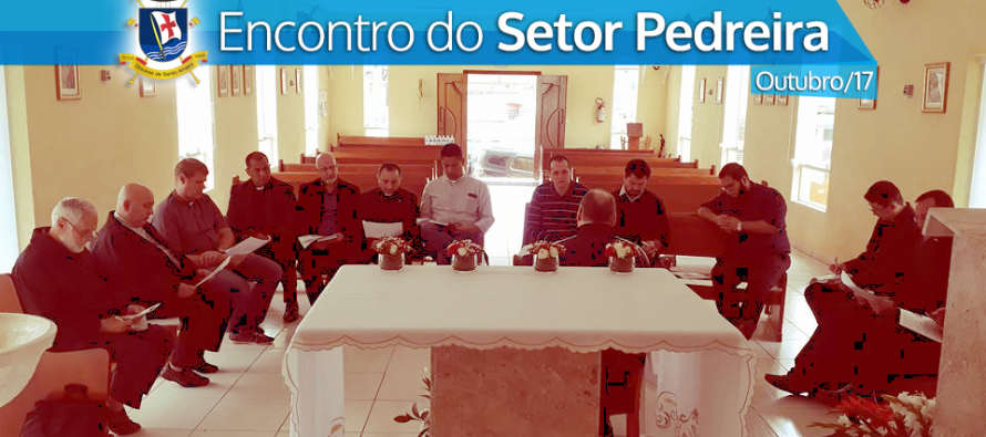 Encontro dos Padres do Setor Pedreira na Paróquia Santa Paulina