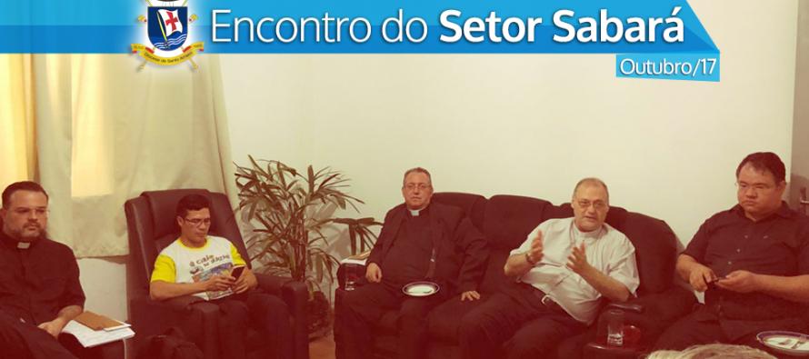 Encontro dos Padres do Setor Sabará na Paróquia N.S. do Sabará