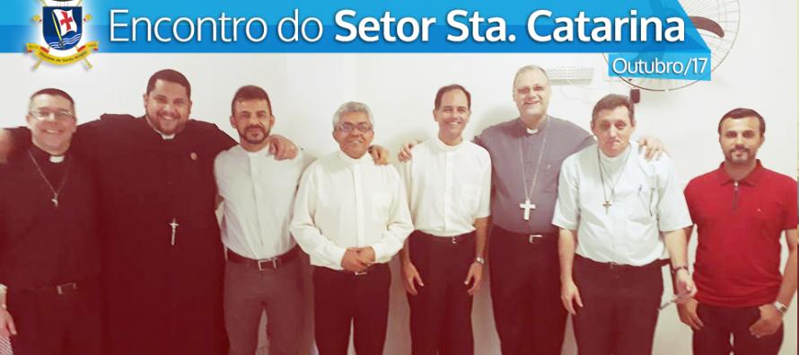Encontro dos Padres do Setor Santa Catarina na Paróquia São Benedito