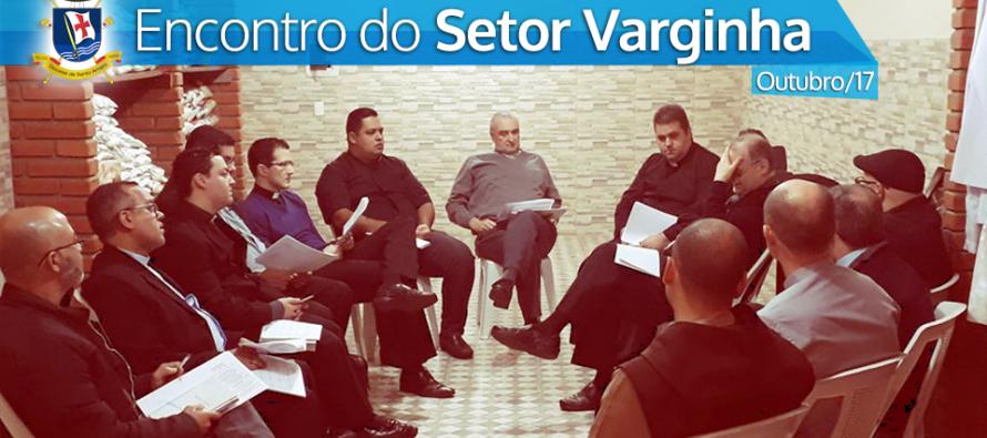 Encontro com os Padres do Setor Varginha na Paróquia Santa Luzia