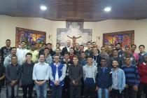 Dom José participa de Encontro Vocacional no Seminário Diocesano de Teologia