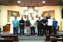 Dom José visita o seminário diocesano de Teologia