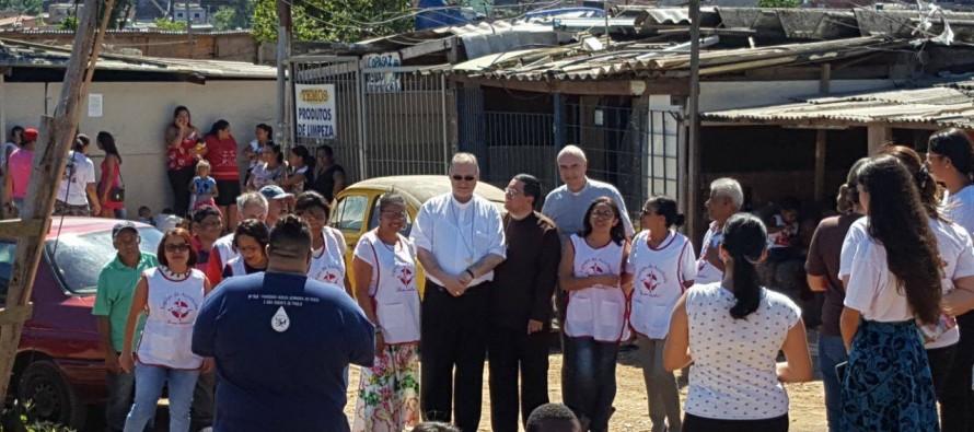 Dom José visita assentados do Projeto Anchieta na região do Grajaú
