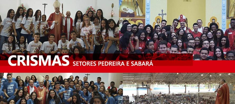 Dom José celebra o Crisma em paróquias dos setores Pedreira e Sabará