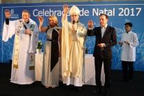 Dom José celebra missa de natal na prefeitura de São Paulo