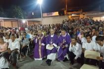 Bispo diocesano participa do encerramento das Santas Missões na Paróquia Santa Edwiges