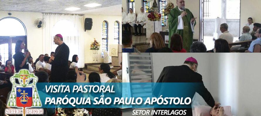 Visita Pastoral na Paróquia São Paulo Apóstolo