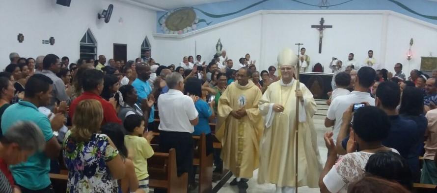 Posse do Padre Osvaldo na Paróquia NS da Medalha Milagrosa