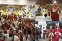 Visita Pastoral à Paróquia Santa Luzia