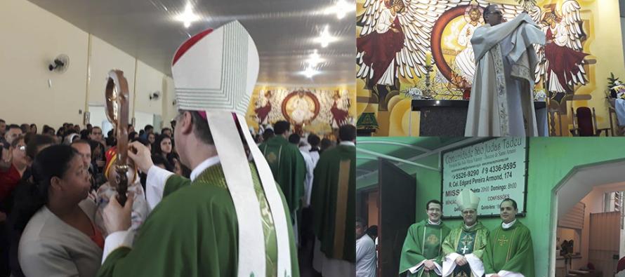 Paróquia São João Maria Vianney recebe Dom José para Visita Pastoral