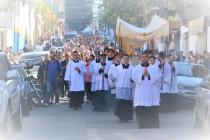 Celebração de Corpus Christi na Catedral de Santo Amaro