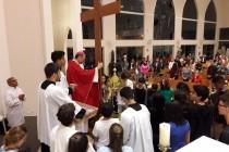 Santuário de Fátima: Peregrinação da Cruz e da imagem de N. Sra. Aparecida