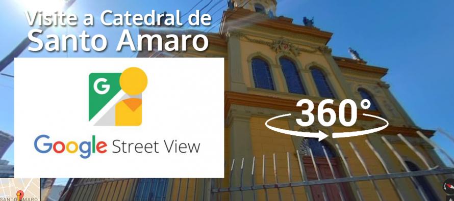 Catedral de Santo Amaro pode ser visitada em tour virtual no Google