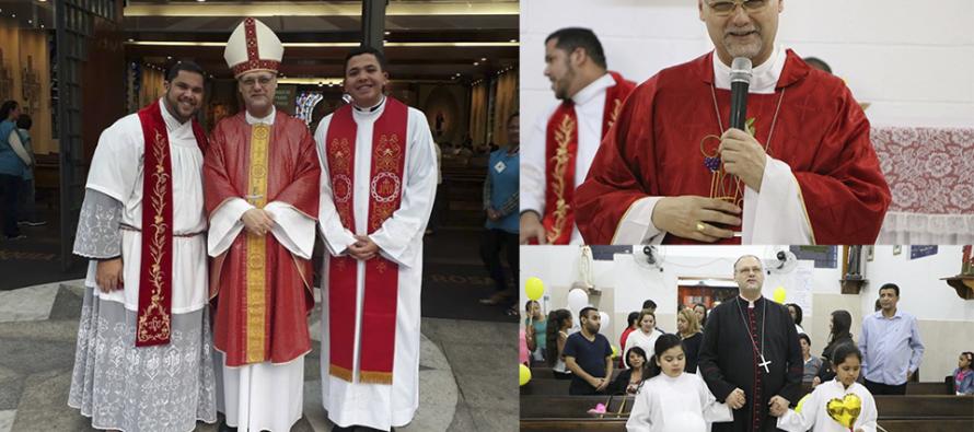 Paróquia N. Sra. do Perpétuo Socorro e Santa Rosalia recebe Dom José para Visita Pastoral