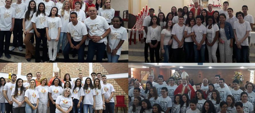 Crisma é celebrado em mais quatro paróquias do setor Santo Amaro