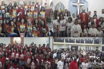 Jovens de quatro paróquias do setor Cupecê são crismados