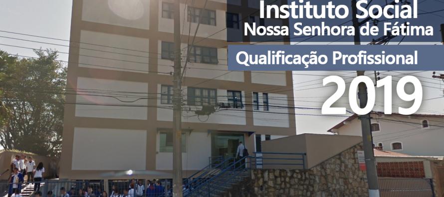 Para 2019: Instituto Social N.S. de Fátima abre inscrições para cursos profissionalizantes