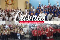 Jovens de quatro paróquias recebem o sacramento do Crisma