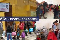 II Dia Mundial dos Pobres: Mais de 200 pessoas são assistidas em ação social